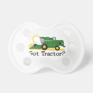 Gekregen Tractor? Speen