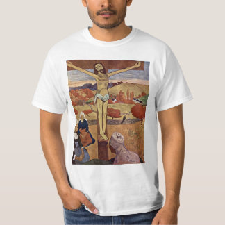 Gele Christus door Paul Gauguin, Vintage Fijn Art. T Shirt