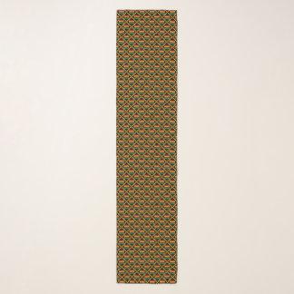 Gele, Groene, Rode, Zwarte Afrikaanse Doek Kente Sjaal