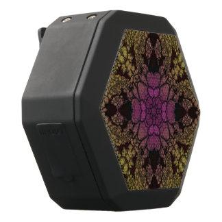 Gele Roze Paarse Samenvatting Zwarte Bluetooth Speaker