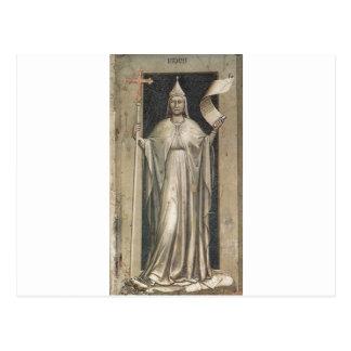 Geloof door Giotto Briefkaart
