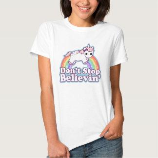 Geloof in Eenhoorns Tshirts