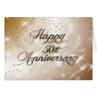 Gelukkig 50ste Jubileum (huwelijksverjaardag) Wenskaart