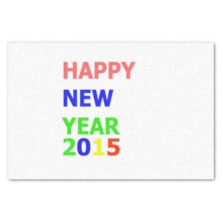 gelukkig nieuw jaar tissuepapier