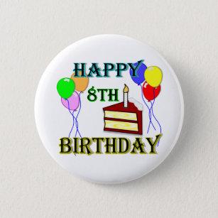 8ste Verjaardag Accessoires Zazzle Be