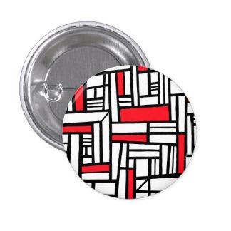 Gelukkige het Verbazen Moderne Verrukkelijk Ronde Button 3,2 Cm