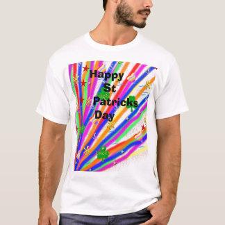 Gelukkige St Patrick Dag T Shirt