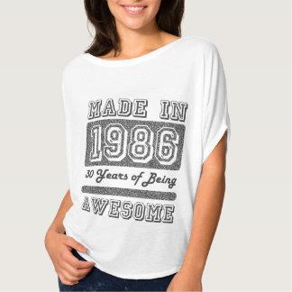 Gemaakt in 1986 t shirt