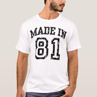 Gemaakt in 81 t shirt