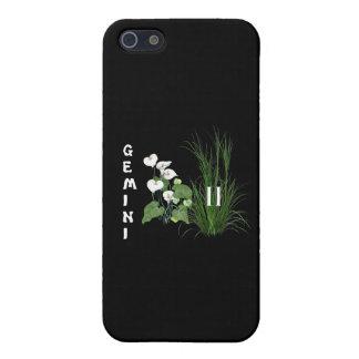 Gémeaux de bambou et de lis iPhone 5 case