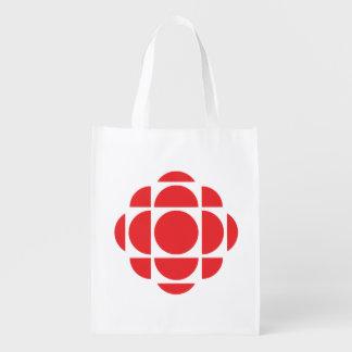 Gemme de CBC/Radio-Canada Sac Réutilisable D'épcierie