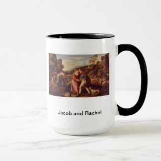 Genèse 29 de Jacob et de Rachel Mug
