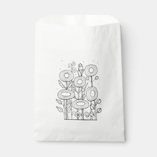 Génial conception jardin d'agrément de schéma sachets en papier