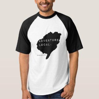 """Gens du pays de l'aventure des hommes """". 'Raglan à T-shirt"""