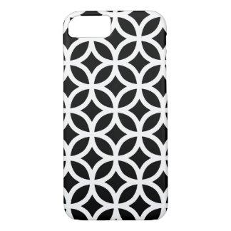 Géométrique noir et blanc coque iPhone 7