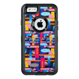 Geometrisch Kaliber op Otterbox voor het iPhone6s