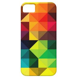 Geometrische Vector Kleurrijke iPhone van het Barely There iPhone 5 Hoesje