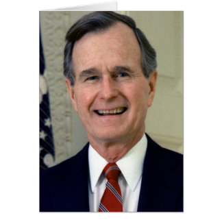 George H.W. Bush 41 Carte