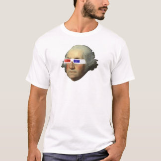 George Washington dans 3D T-shirt