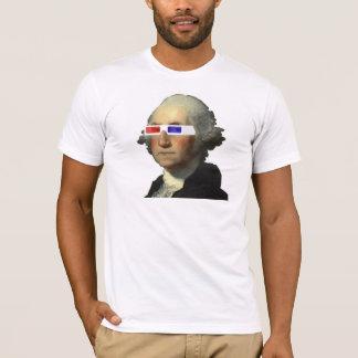George Washington dans 3D T-shirt