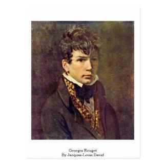 Georges Rouget par Jacques-Louis David Carte Postale