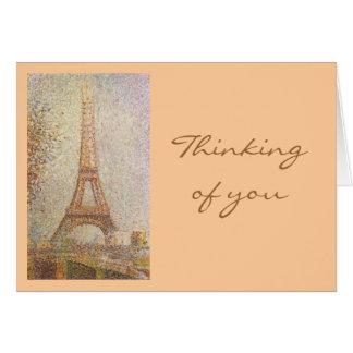 Georges Seurat Carte