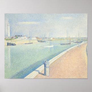 Georges Seurat - la Manche de Gravelines