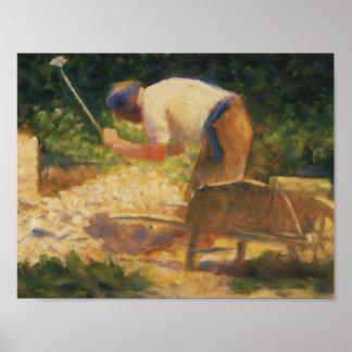 Georges Seurat - le briseur en pierre