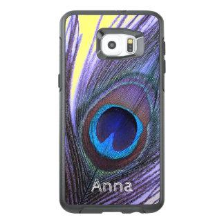 Gepersonaliseerd kies de Veer Pauw van de OtterBox Samsung Galaxy S6 Edge Plus Hoesje