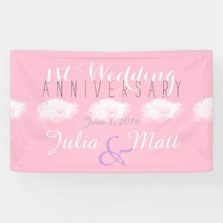 Gepersonaliseerde Banner van het Huwelijk van de