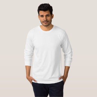 Gepersonaliseerde Large Heren Ronde Hals T Shirt