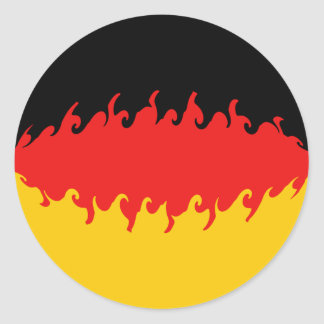 Germany Gnarly Flag Sticker