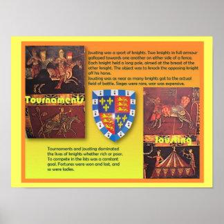 Geschiedenis, Middeleeuwen, Middeleeuwse Poster