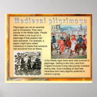 Geschiedenis, Middeleeuwse Bedevaart Poster