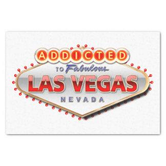 Gewijd het Grappige Teken aan van Las Vegas, Tissuepapier