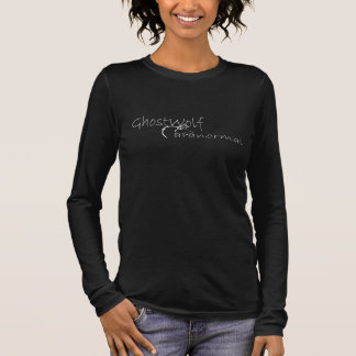 GhostWolf paranormal T-shirt À Manches Longues