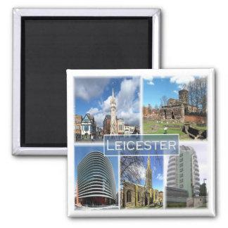 Gigaoctet * L'Angleterre - le Leicester Magnet Carré