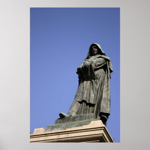 Giordano Bruno in Rome Plaat