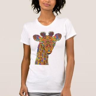 Girafe colorée t-shirt
