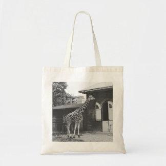 Girafe dans le sac fourre-tout de Londres