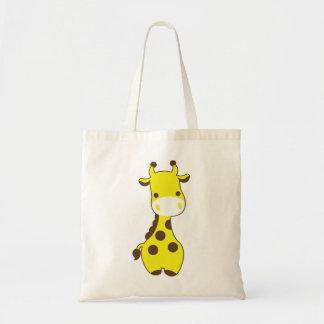 Girafe de bébé sac en toile budget
