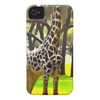 Girafe de safari étuis iPhone 4