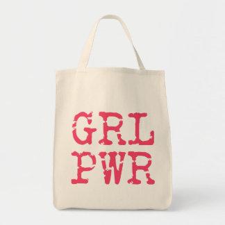 (Girlpower) het Bolsa van de Kruidenierswinkel Draagtas