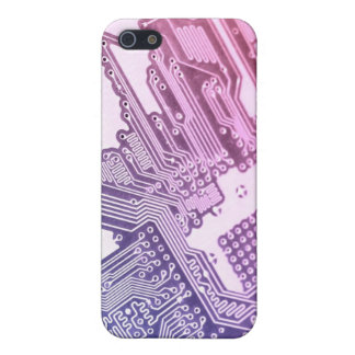 GIRLY GIRLY POURPRE DE LA CARTE IPHONE COQUES iPhone 5