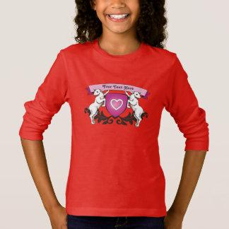 Girly Sweater - Cute imaginary coat of arms T-shirt