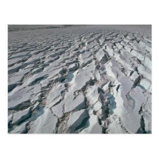 Glacier de Crevassed Carte Postale