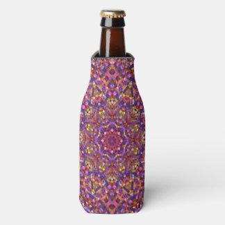 Glacière de bouteille de kaléidoscope de motif de