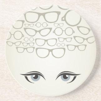Glasses4 Dessous De Verre En Grès