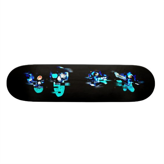 Glitching Skateboard Customisable