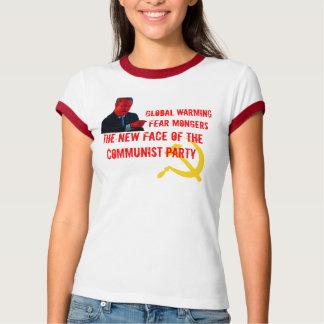 Globale het Verwarmen Mongers van de Vrees T Shirt